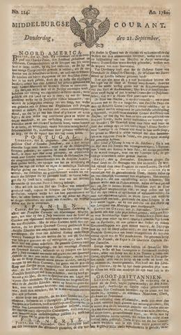Middelburgsche Courant 1780-09-21