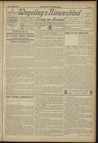 Zeeuwsch Nieuwsblad/Wegeling's Nieuwsblad 1925-11-27