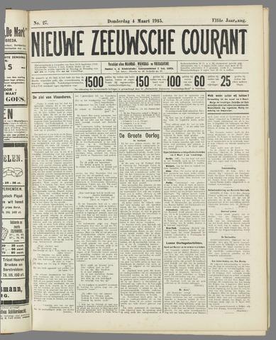 Nieuwe Zeeuwsche Courant 1915-03-04