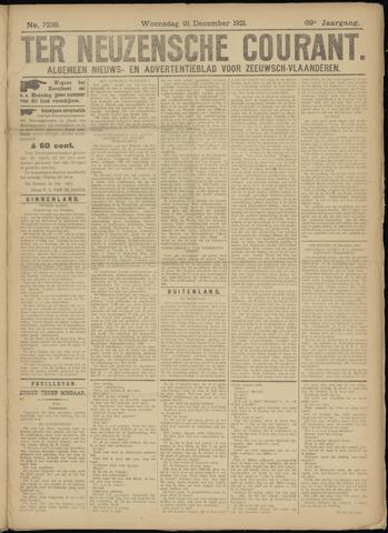 Ter Neuzensche Courant. Algemeen Nieuws- en Advertentieblad voor Zeeuwsch-Vlaanderen / Neuzensche Courant ... (idem) / (Algemeen) nieuws en advertentieblad voor Zeeuwsch-Vlaanderen 1921-12-21