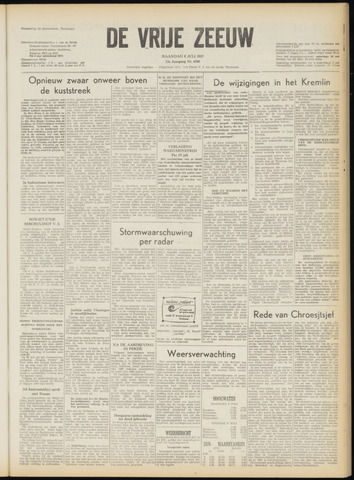 de Vrije Zeeuw 1957-07-08