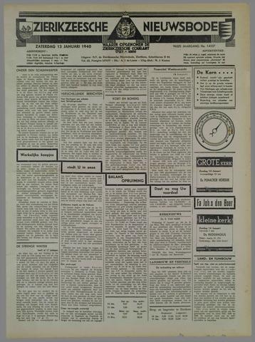 Zierikzeesche Nieuwsbode 1940-01-13