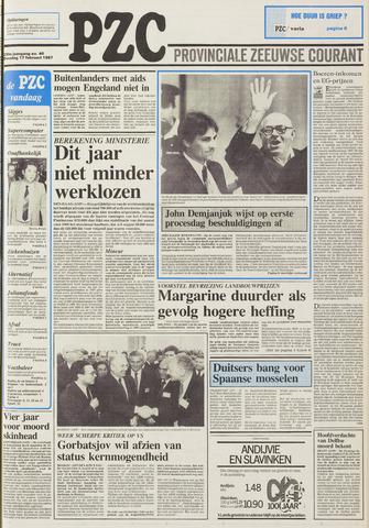 Provinciale Zeeuwse Courant 1987-02-17