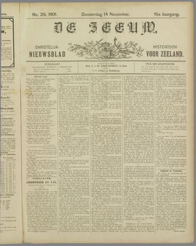 De Zeeuw. Christelijk-historisch nieuwsblad voor Zeeland 1901-11-14