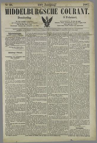 Middelburgsche Courant 1887-02-03