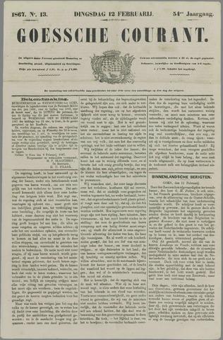 Goessche Courant 1867-02-12