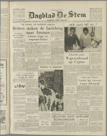 de Stem 1958-08-05