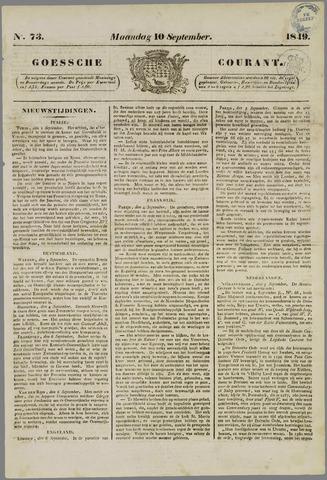 Goessche Courant 1849-09-10