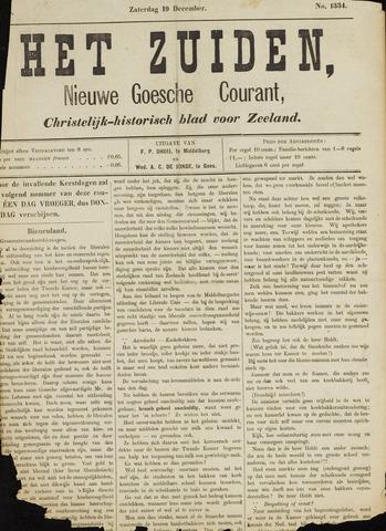 Het Zuiden, Christelijk-historisch blad 1885-12-19