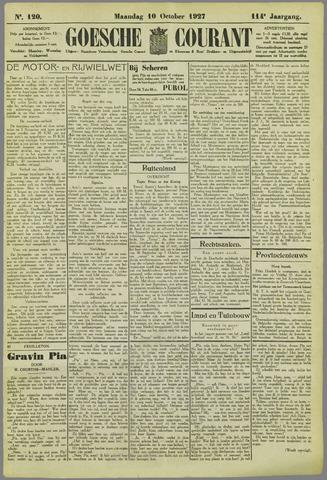 Goessche Courant 1927-10-10
