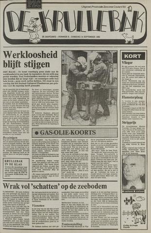 Provinciale Zeeuwse Courant katern Krullenbak (1981-1999) 1982-09-14