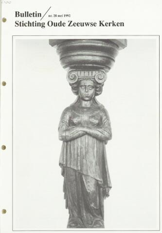 Bulletin Stichting Oude Zeeuwse kerken 1992-05-01