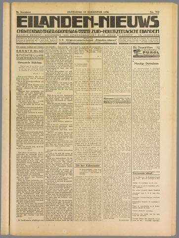 Eilanden-nieuws. Christelijk streekblad op gereformeerde grondslag 1936-08-15