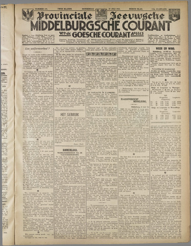 Middelburgsche Courant 1933-07-27