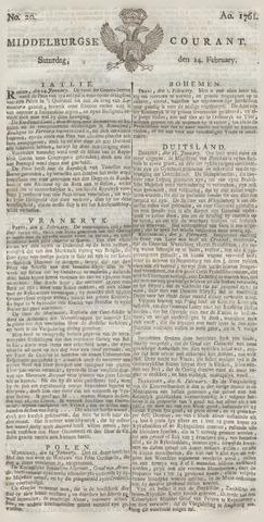 Middelburgsche Courant 1761-02-14