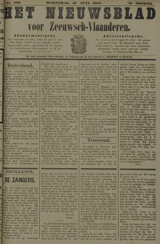 Nieuwsblad voor Zeeuwsch-Vlaanderen 1900-06-13
