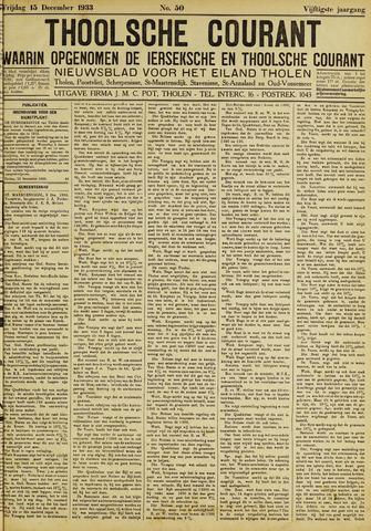 Ierseksche en Thoolsche Courant 1933-12-15