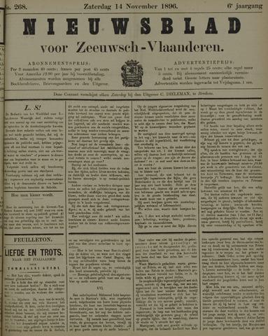 Nieuwsblad voor Zeeuwsch-Vlaanderen 1896-11-14