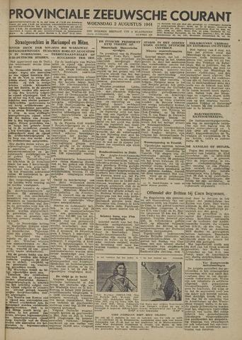 Provinciale Zeeuwse Courant 1944-08-02