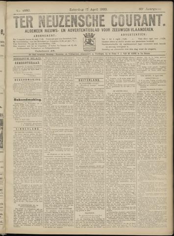 Ter Neuzensche Courant. Algemeen Nieuws- en Advertentieblad voor Zeeuwsch-Vlaanderen / Neuzensche Courant ... (idem) / (Algemeen) nieuws en advertentieblad voor Zeeuwsch-Vlaanderen 1920-04-17