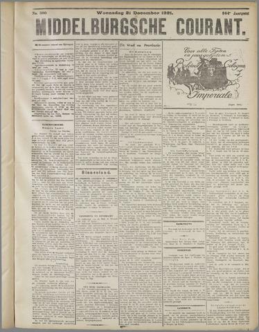 Middelburgsche Courant 1921-12-21
