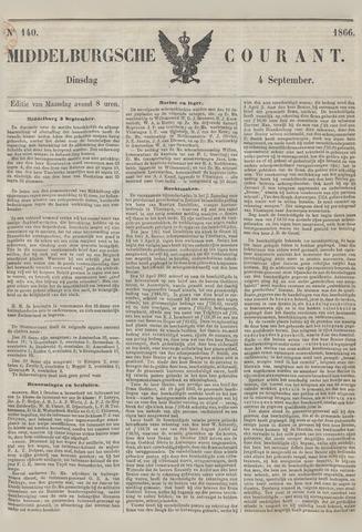 Middelburgsche Courant 1866-09-04