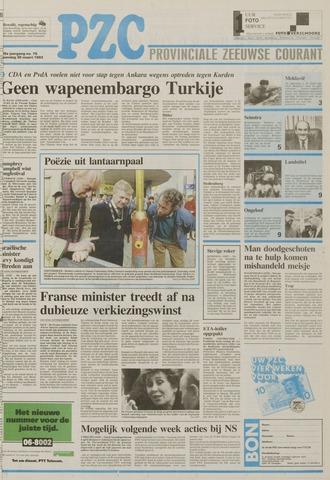 Provinciale Zeeuwse Courant 1992-03-30