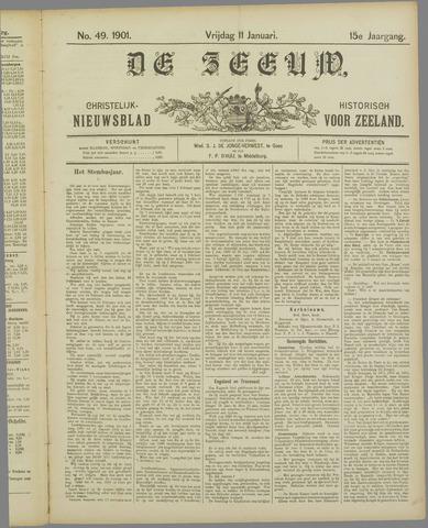 De Zeeuw. Christelijk-historisch nieuwsblad voor Zeeland 1901-01-11