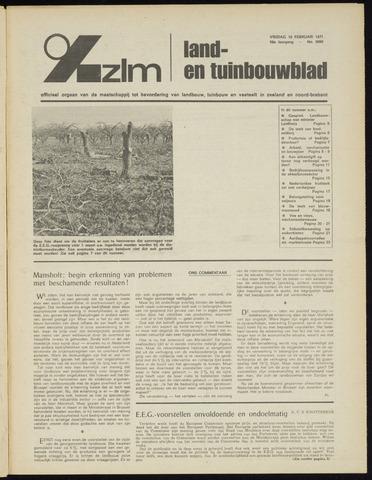 Zeeuwsch landbouwblad ... ZLM land- en tuinbouwblad 1971-02-19