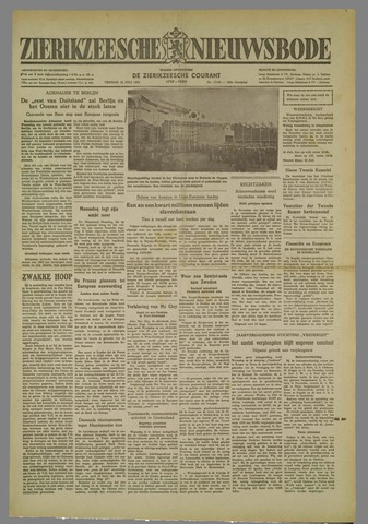 Zierikzeesche Nieuwsbode 1952-07-18