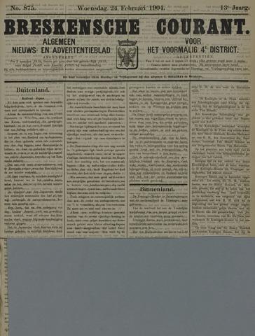 Breskensche Courant 1904-02-24