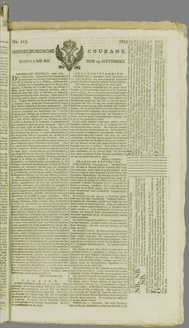 Middelburgsche Courant 1805-09-19