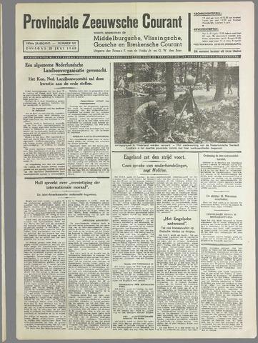 Provinciale Zeeuwse Courant 1940-07-23