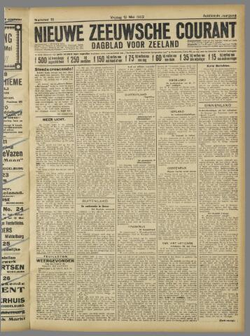 Nieuwe Zeeuwsche Courant 1922-05-12