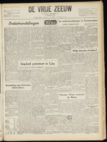 de Vrije Zeeuw 1951-12-08