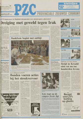 Provinciale Zeeuwse Courant 1991-09-24