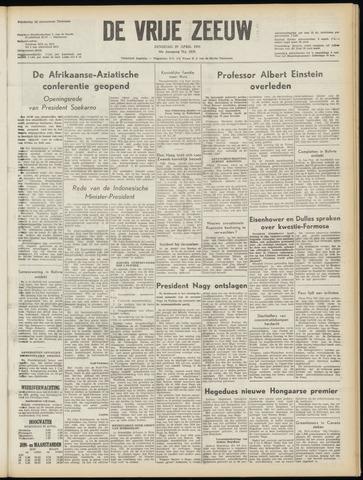 de Vrije Zeeuw 1955-04-19