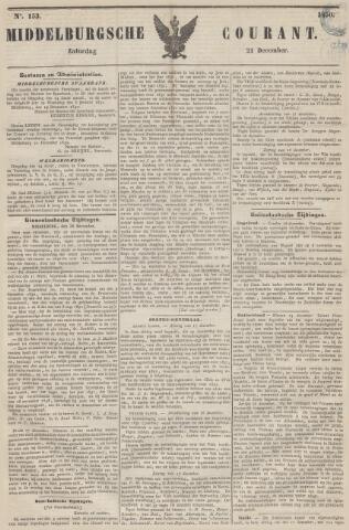 Middelburgsche Courant 1850-12-21