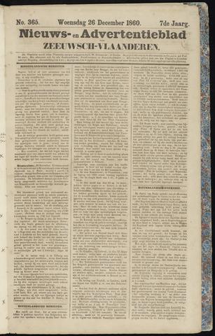 Ter Neuzensche Courant. Algemeen Nieuws- en Advertentieblad voor Zeeuwsch-Vlaanderen / Neuzensche Courant ... (idem) / (Algemeen) nieuws en advertentieblad voor Zeeuwsch-Vlaanderen 1860-12-26