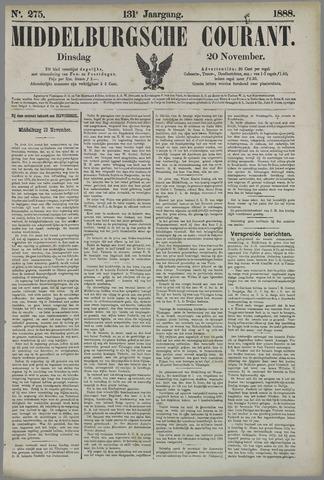 Middelburgsche Courant 1888-11-20