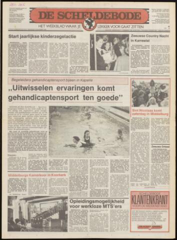 Scheldebode 1986-11-20