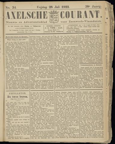 Axelsche Courant 1922-07-28
