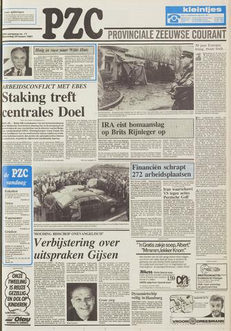 Provinciale Zeeuwse Courant 1987-03-25