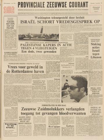 Provinciale Zeeuwse Courant 1970-09-07