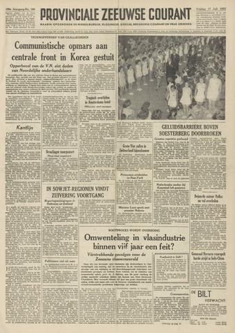 Provinciale Zeeuwse Courant 1953-07-17