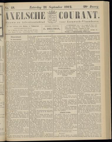 Axelsche Courant 1912-09-21