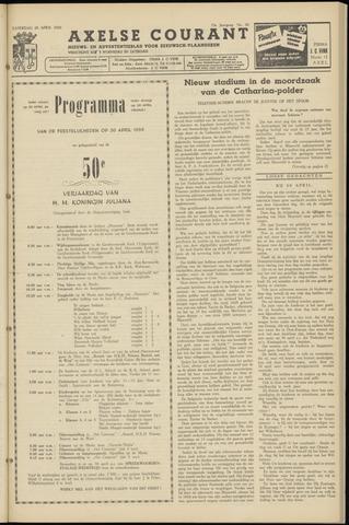 Axelsche Courant 1959-04-25