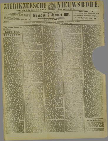 Zierikzeesche Nieuwsbode 1911-01-02