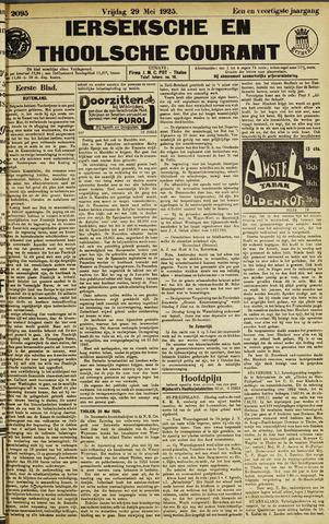 Ierseksche en Thoolsche Courant 1925-05-29