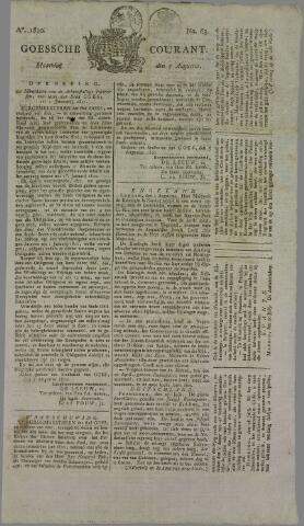 Goessche Courant 1820-08-07